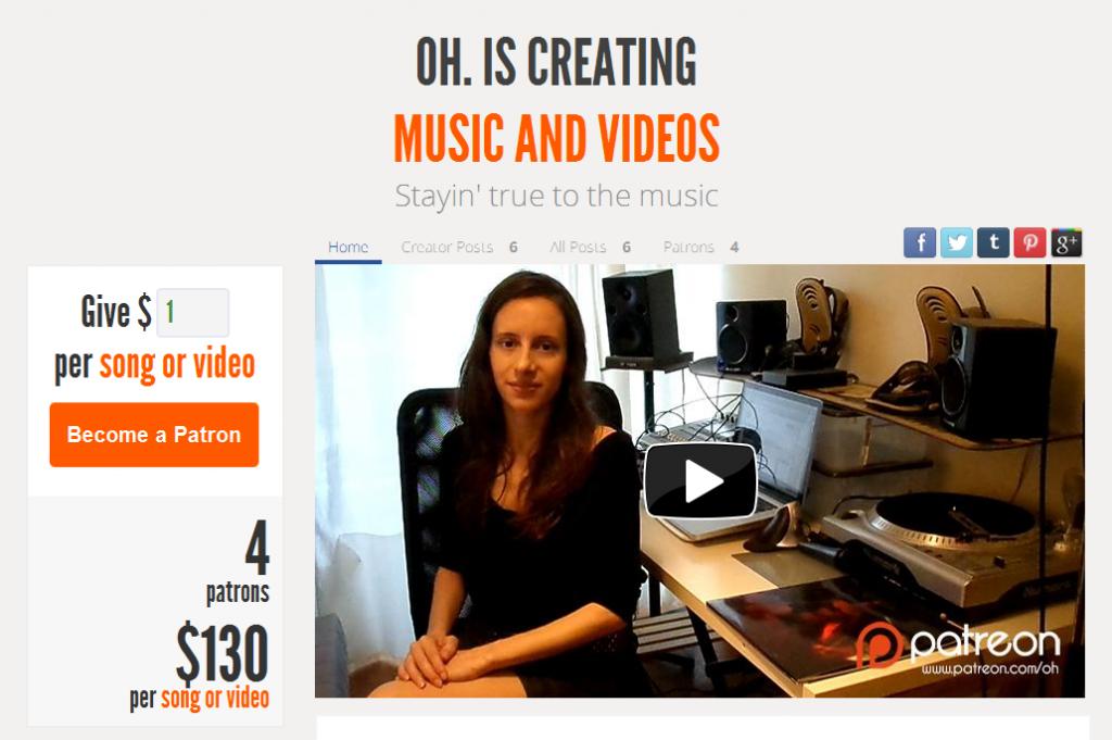 OH. - Patreon Crowdfunding