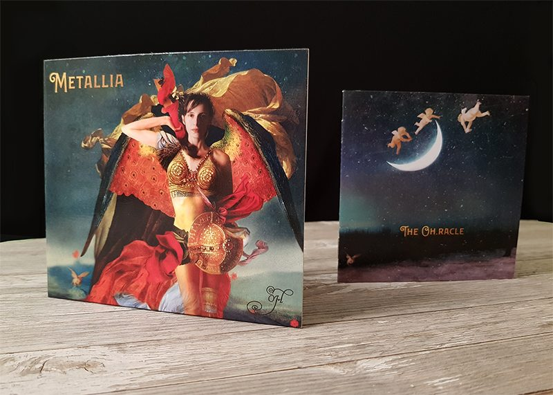"The Limited Edition CD of ""Metallia"" by Oh (Cover)"
