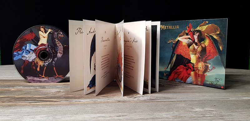 """The Limited Edition CD of """"Metallia"""" by Oh (Booklet +CD)"""