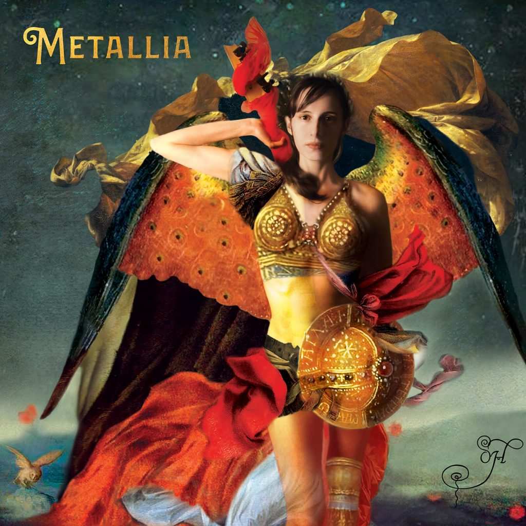 "Cover Art of ""Metallia' – A New Progressive Metal Album by Oh."