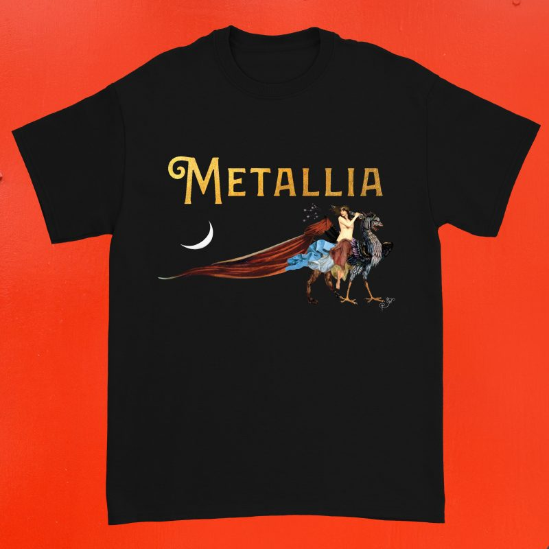 In the Studio - Oh. aka Olivia Hadjiioannou - T-Shirts Metallia
