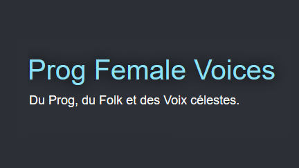 Prog Female Voices