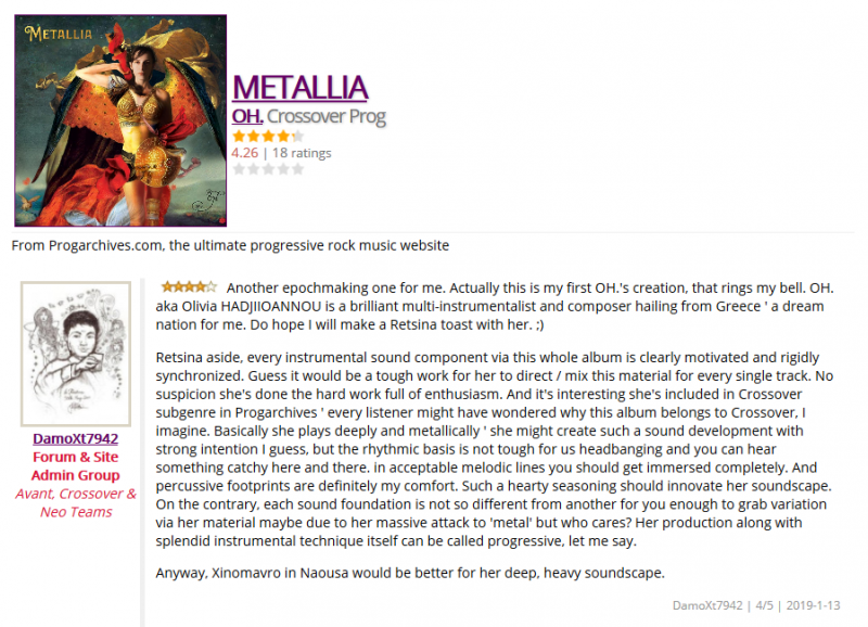 OH - Metallia, review by DamoXt7942