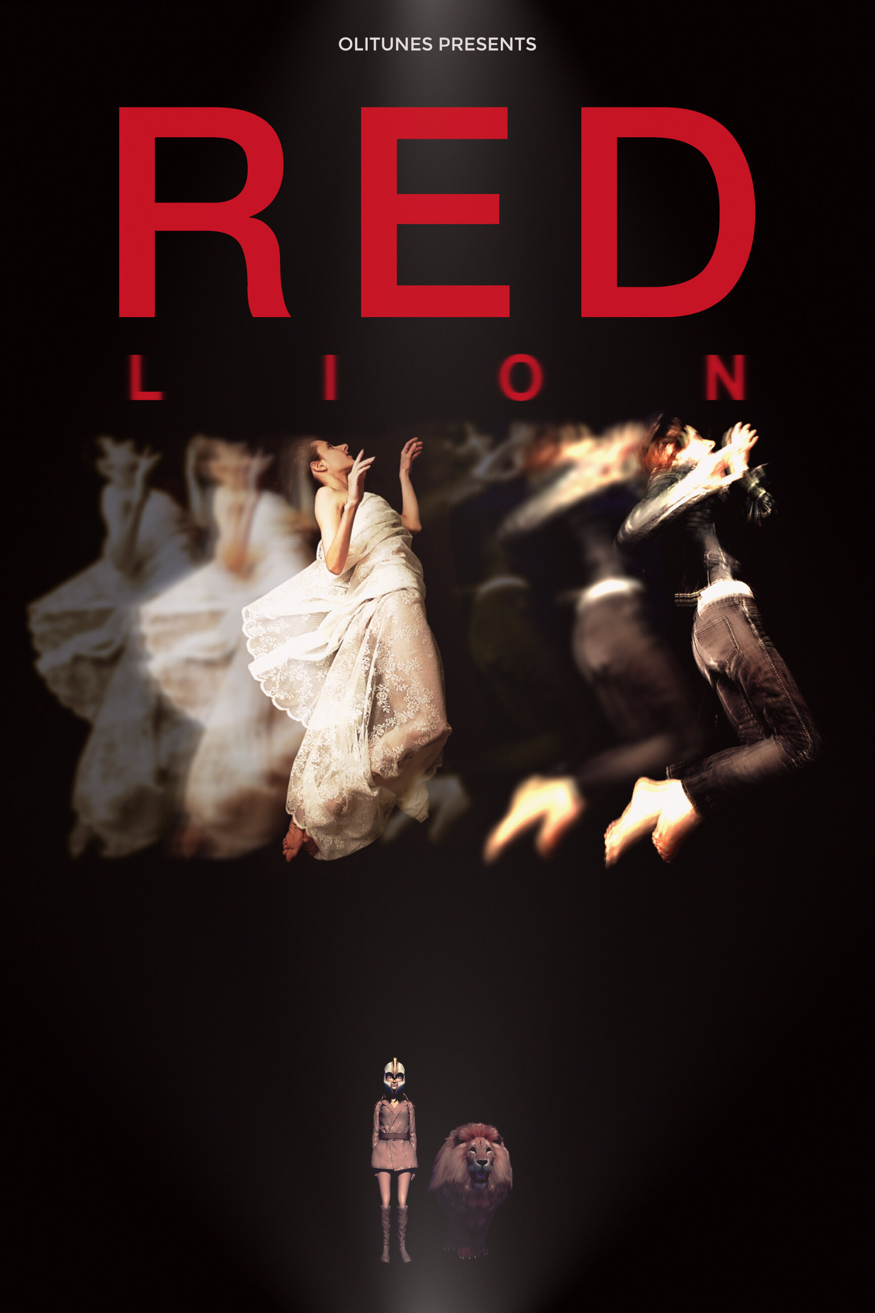 RED LION by Oh. Olivia Hadjiioannou