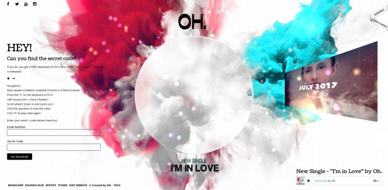 Oh. aka Olivia Hadjiioannou - Cinema 4D - I'm in Love
