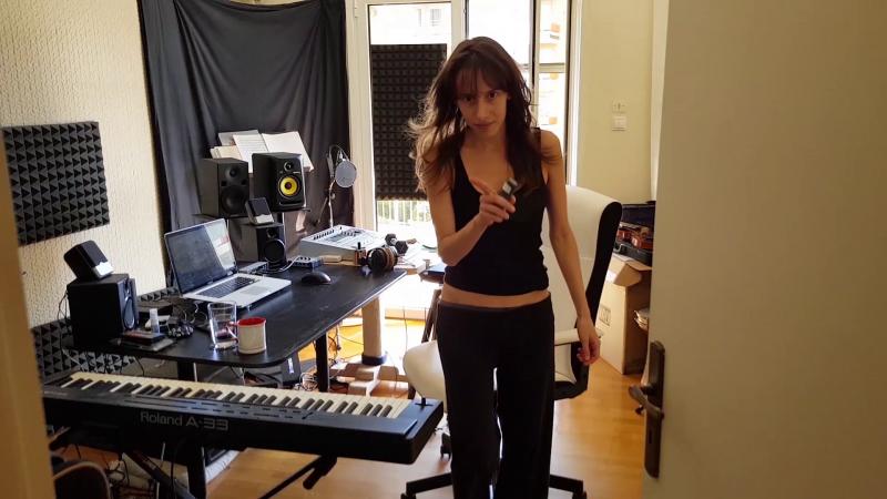In the Studio - Oh. aka Olivia Hadjiioannou - Multi-instrumentalist