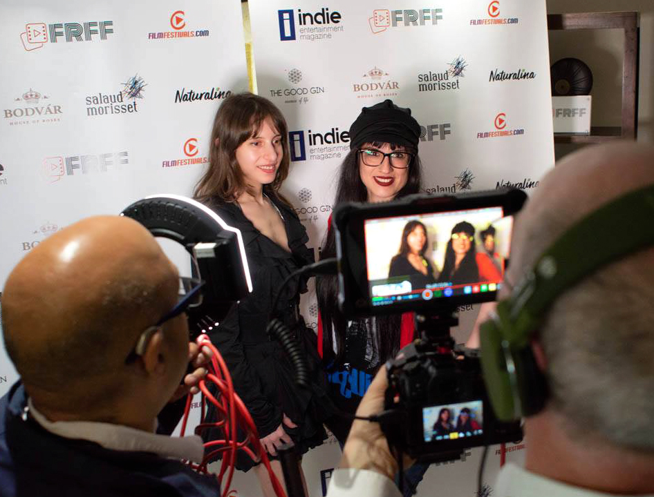 Director Olivia Hadjiioannou and Director Laura Zamora