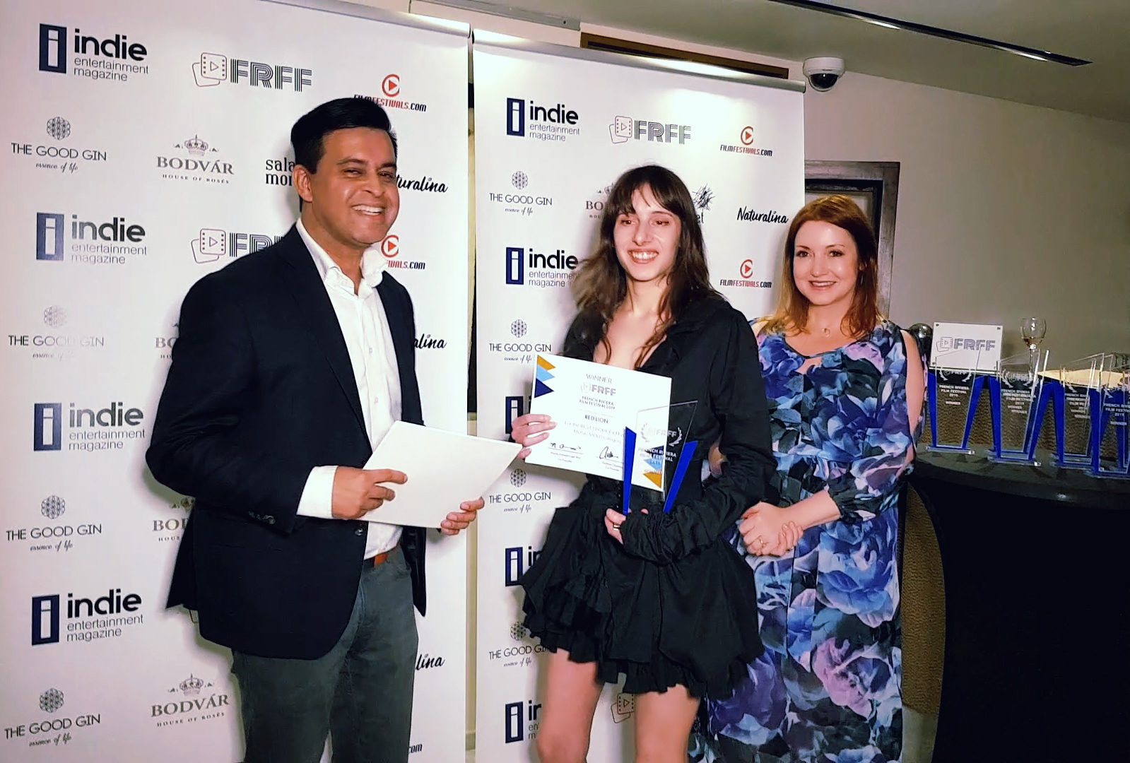 Olivia Hadjiioannou Wins Best Music Video Award at French Riviera Film Festival in Cannes