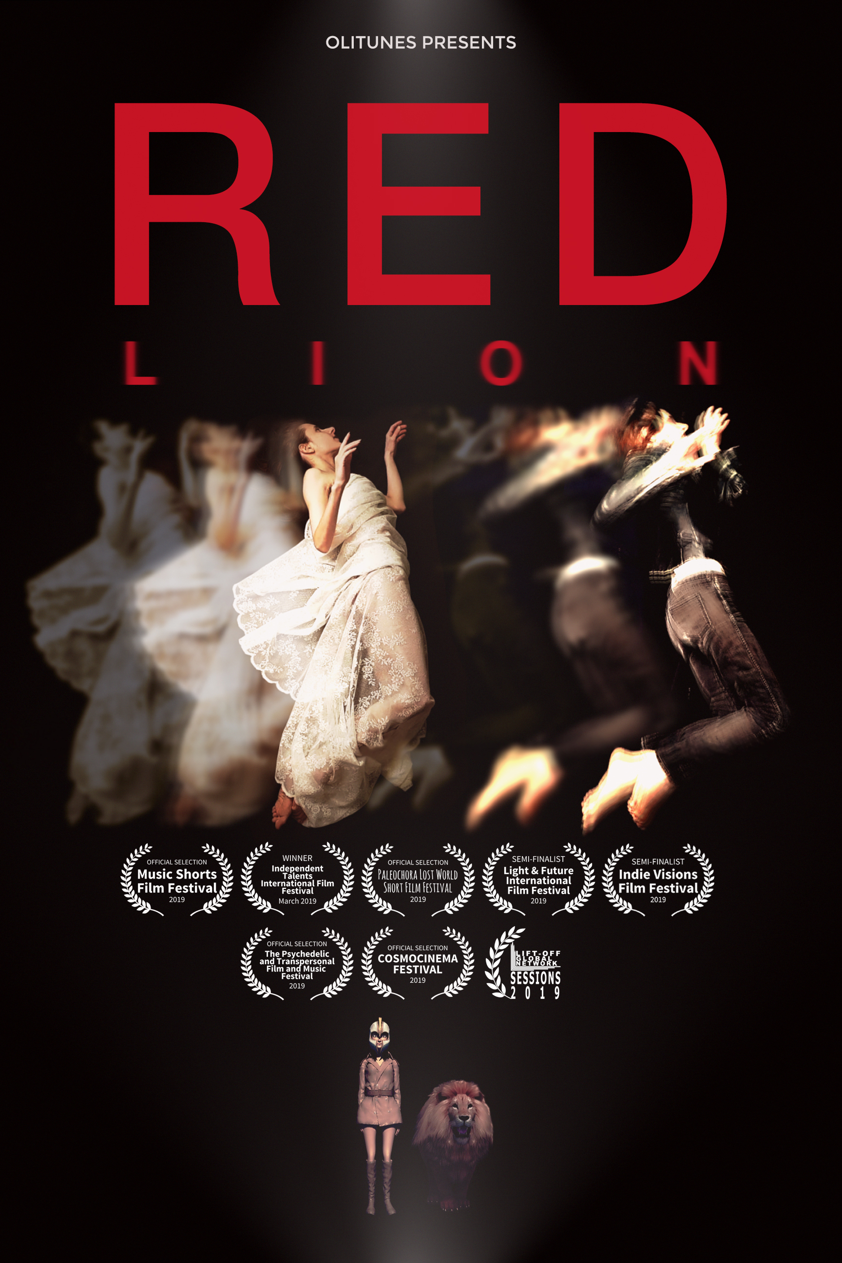 Red Lion Poster Oh. Olivia Hadjiioannou Director