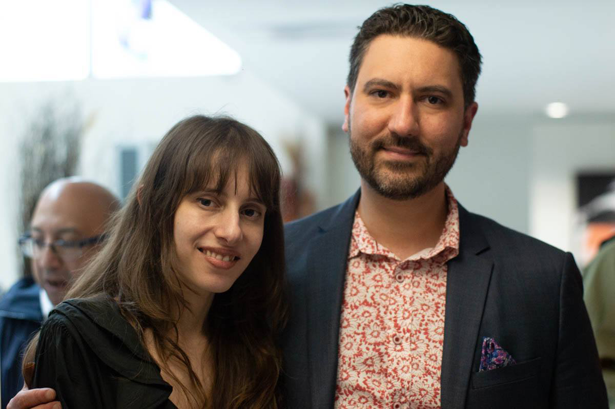 Director Olivia Hadjiioanno and Director Stephen Riscica