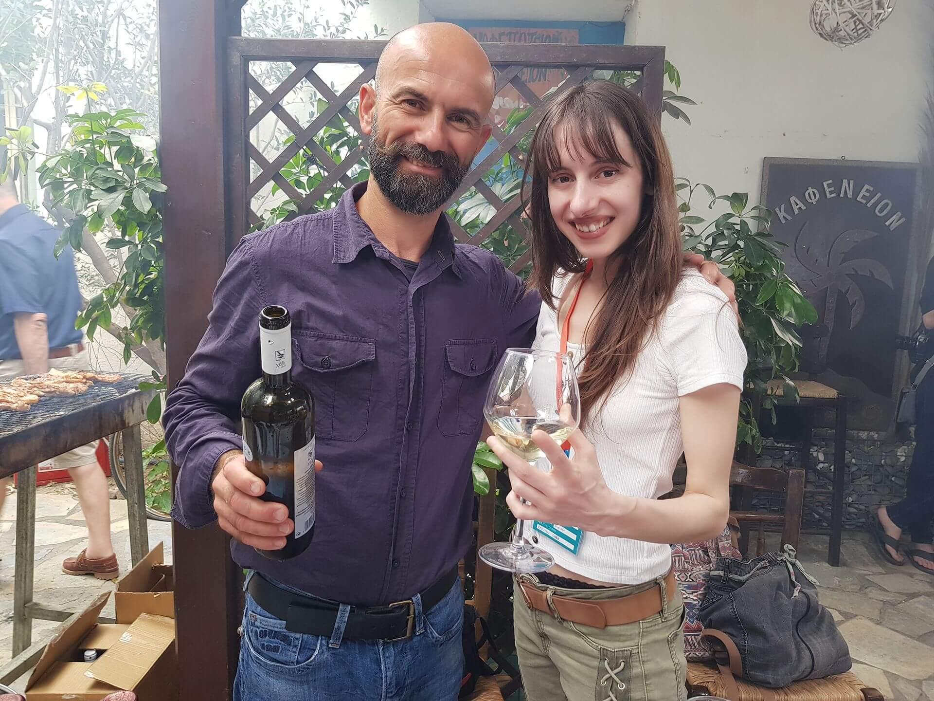 Olivia Hadjiioannou - great wine by Κτήμα Λουπάκη ,οινοποιείο