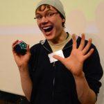 Olivia Hadjiioannou, Erik Akkersdijk Speedcuber Rubik's Cube