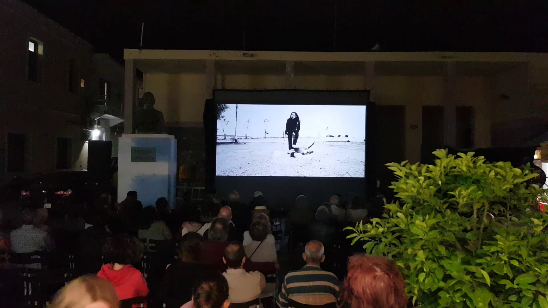 Olivia Hadjiioannou Red Lion At the Paleochora Lost World Film Festival Day Open Air Screenings Town Hall