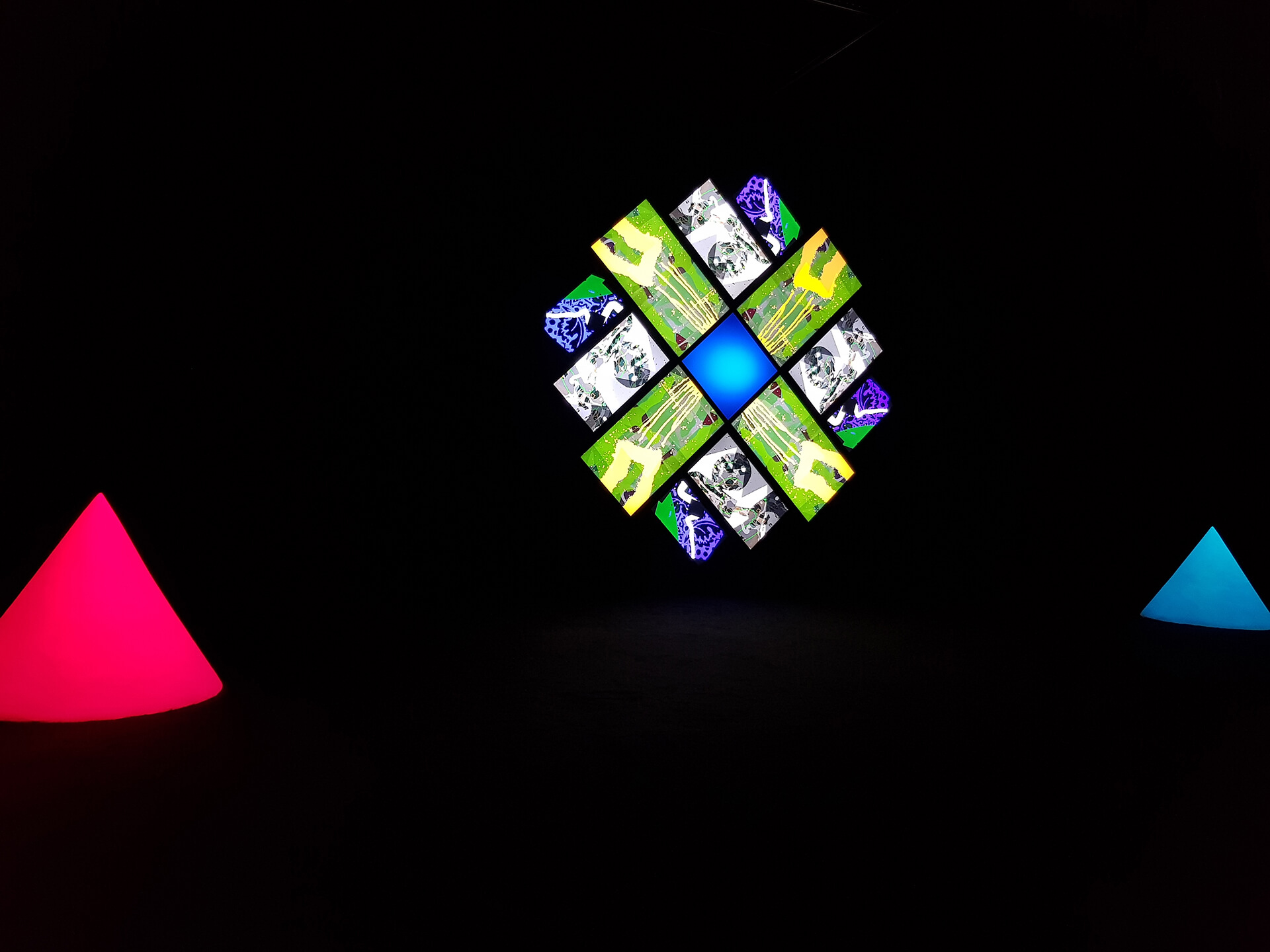 Brian Eno Exhibit at the Stavros Niarchos Center