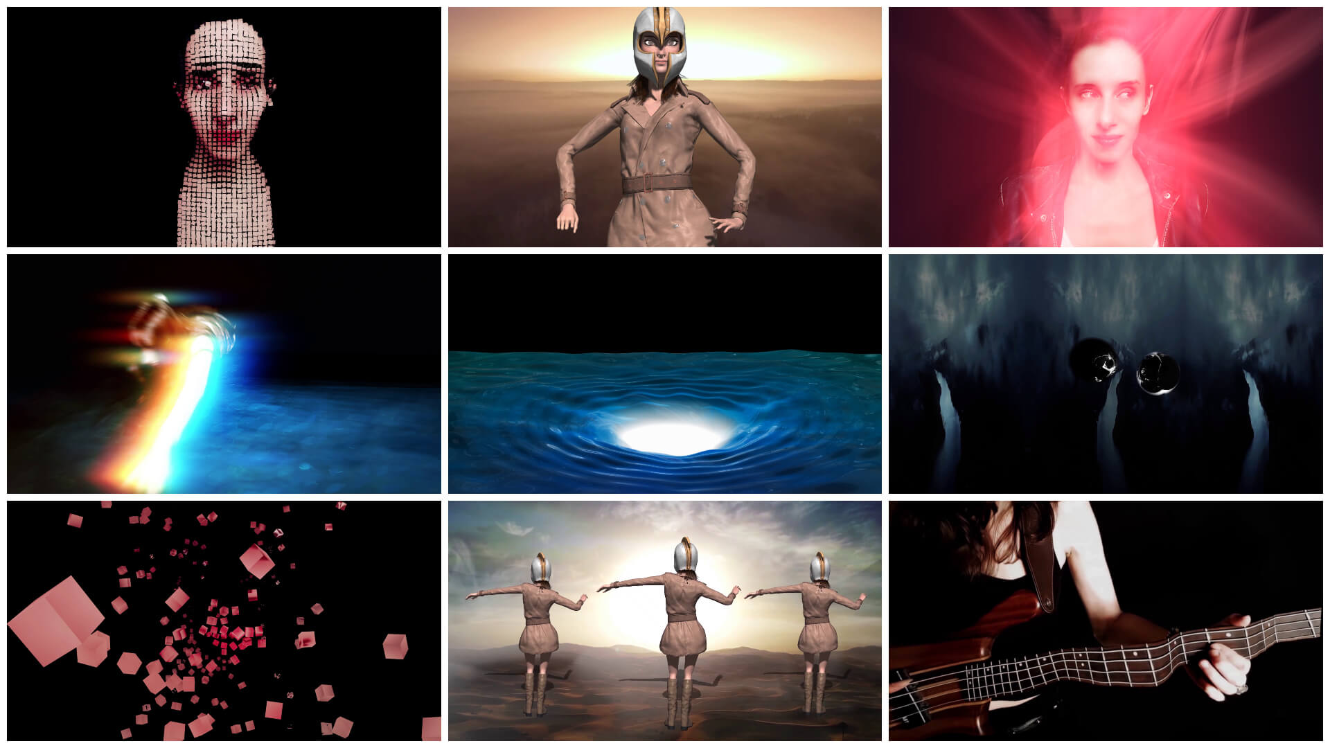 """The Tech Behind the """"Red Lion"""" Music Video [Mettle Mantra VR, Flux, FreeForm Pro, Adobe Fuse & Mixamo] Olivia Hadjiioannou Oh. Prog Metal"""